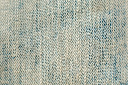 Close up blue jeans background and texture. Standard-Bild
