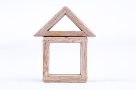 juguetes de madera: juguetes casa de madera, crean su casa idea