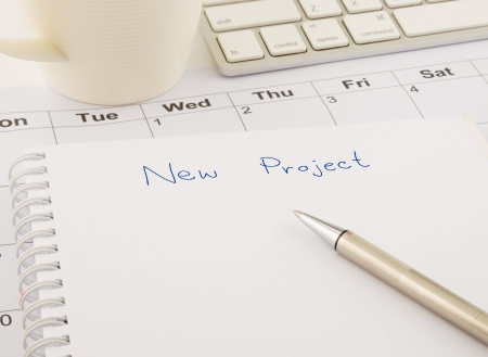 create ideas for new project, business concept