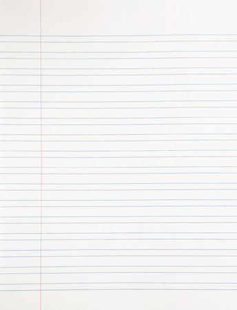 real material notebook paper background, stationery for business and education Stock Photo