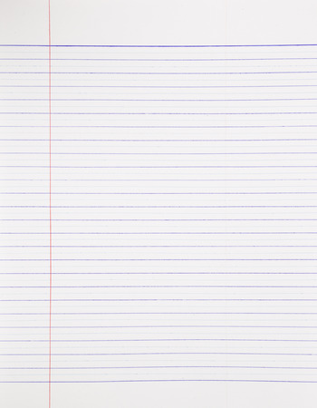 real material notebook paper background, stationery for business and education Banque d'images