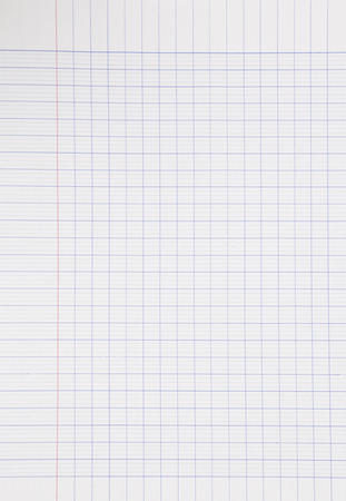notebook paper background: real material notebook paper background, stationery for business and education Stock Photo