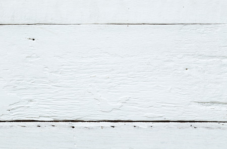 groove: Rough texture and surface of white vintage wooden table with groove and nail holes, top view image.