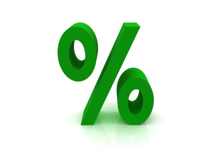menue: High Quality Percentage Sign Stock Photo