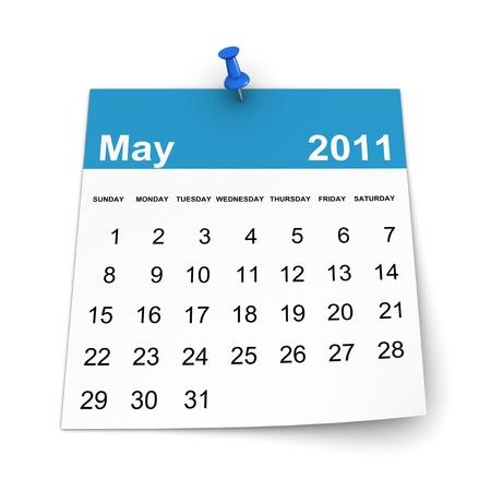 Calendar 2011 - May photo