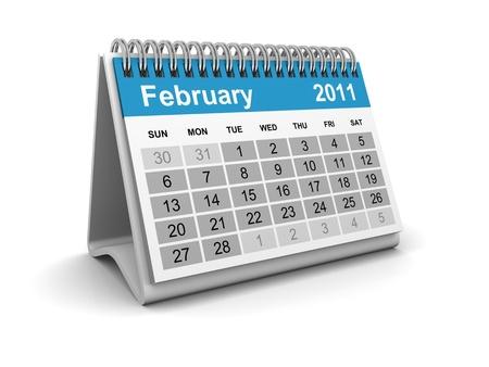 Calendar 2011 - February photo