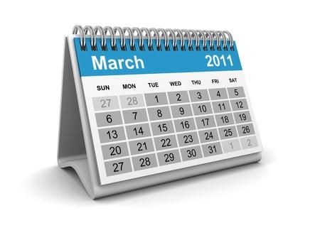 Calendar 2011 - March photo
