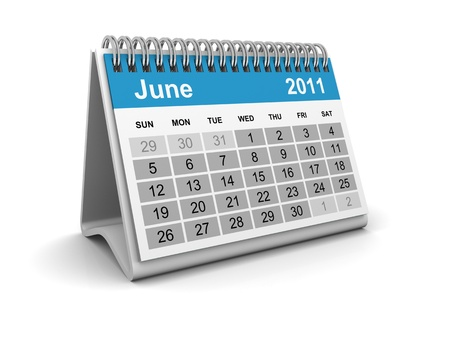 Calendar 2011 - June photo