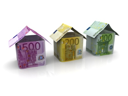 credit union: Euro Money Banknotes