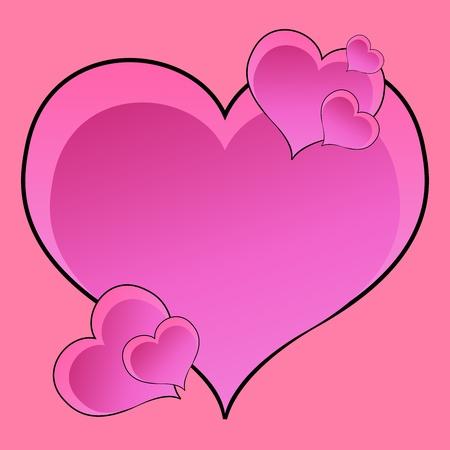 Hearts Stock Photo - 8942121
