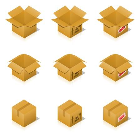 overnight: Transportation Cardboard Box