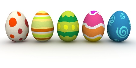 easter sunday: Easter Eggs