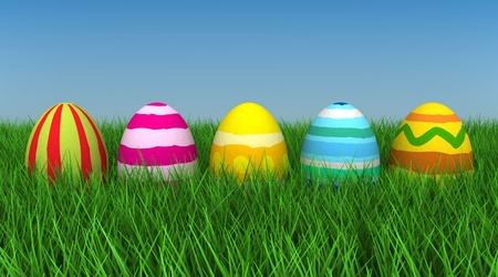 Easter Eggs Stock Photo - 9262317