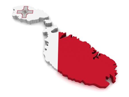 3D Map of Malta