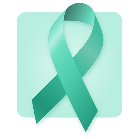 Awareness Ribbon - Jade