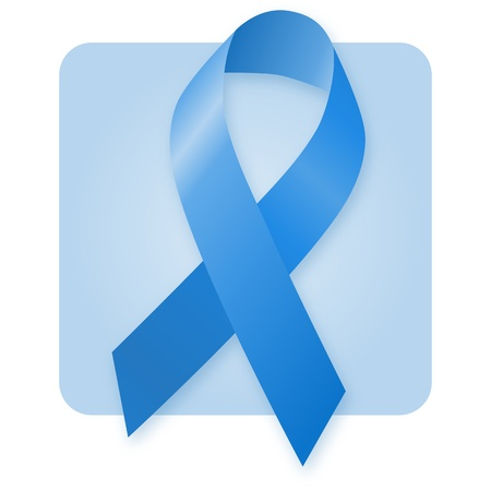 Awareness Ribbon - Blue photo