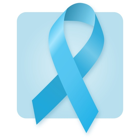 Awareness Ribbon - Light Blue photo
