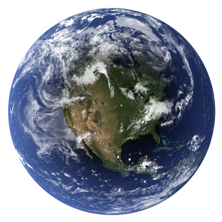 3D Earth globe (Clouds&Topography maps come from earthobervatorynasa)