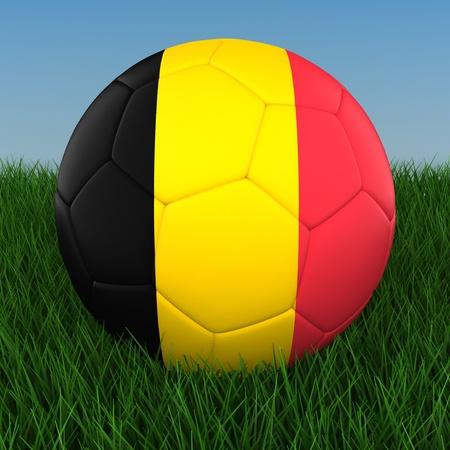 3d ball: Soccer - Belgium