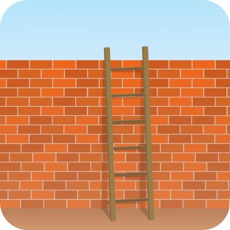 Wall - Ladder  photo