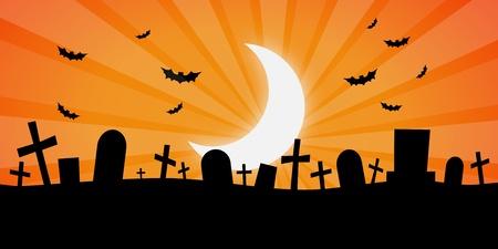 Spooky Cemetary photo