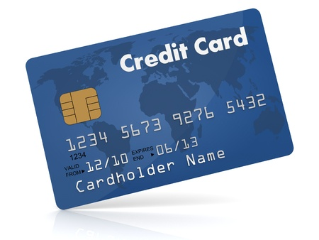 method: Credit Card  Stock Photo
