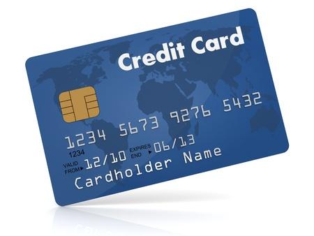 Credit Card  Standard-Bild