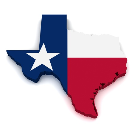 텍사스의 3D지도