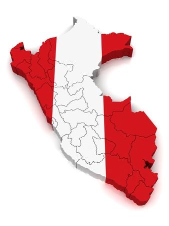 3D Map of Peru