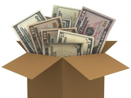 Dollar Money Banknotes Stock Photo - 12430104