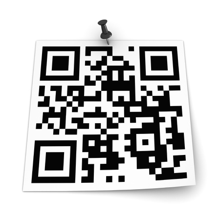 QR Code Stock Photo - 12430071
