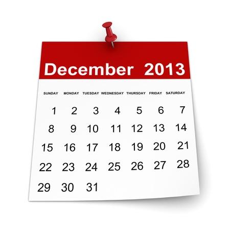 Calendar 2013 - December photo