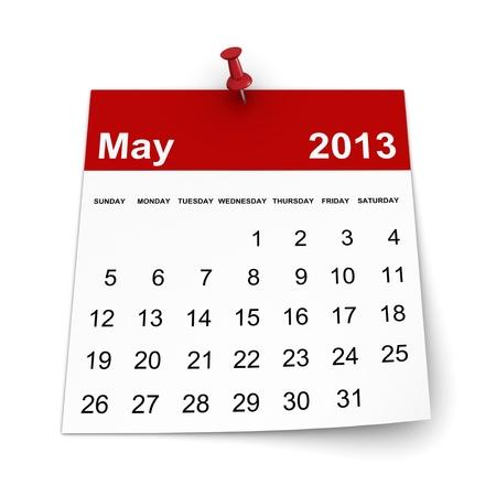 달력 2013 - 5 월