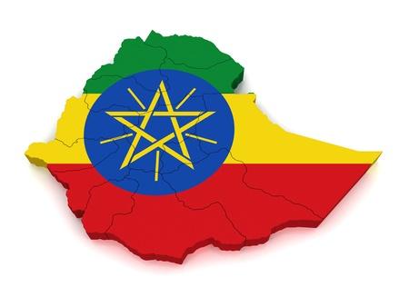 operative: 3D Map of Ethiopia