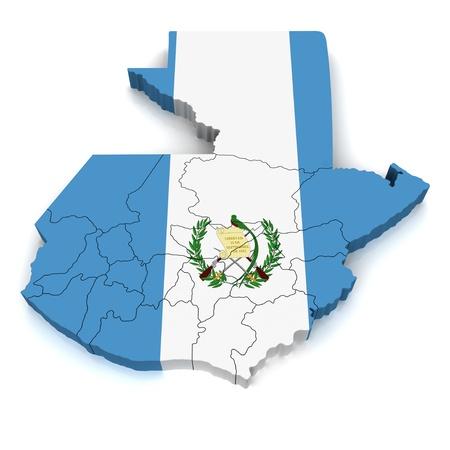 3D Map of Guatemala