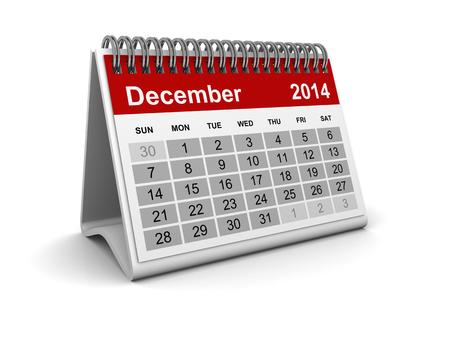 Calendar 2014 - December photo