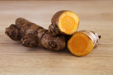 Fresh Turmeric Rhizome  Stock Photo - 12599723