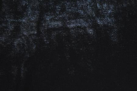 黒いベルベットの布のテクスチャ