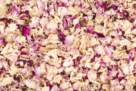 gulab: Dried Rose Petals or Sukhe Gulab patti background
