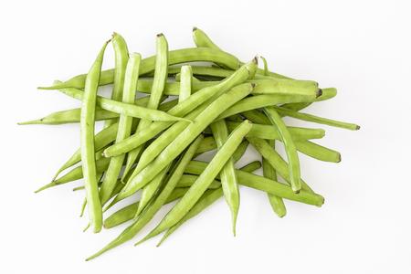 Fèves de grappe organique ou guar (légume indien) et source de gomme de guar