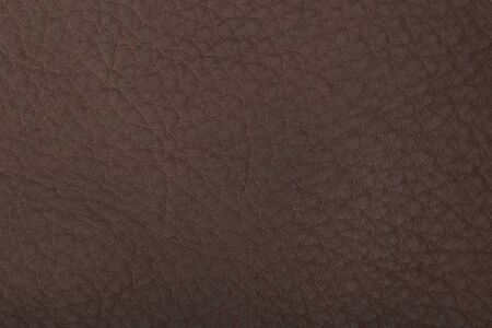 Macro shot of brown leather texture background
