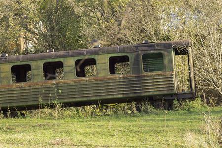 unnecessary: Old wagon passenger
