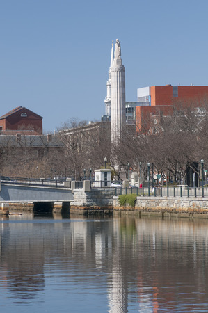 providence: World War I Memorial on the Providence River