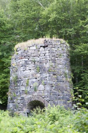 undisturbed: Overgrown 19th-century stone kiln sits undisturbed