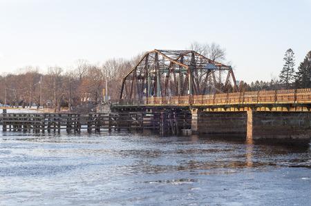 extensive: Berkley bridge before extensive reconstruction was begun