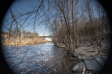 The Blackstone River was an important geographic element of the Industrial Revolution