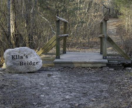 repaired: Repaired bridge at Destruction Brook