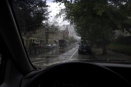 Rainy day in Providence