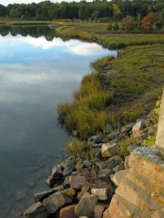 shorelines: Marsh at sunrise