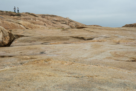 shorelines: Rocky shoreline south of Narragansett, Rhode Island
